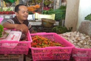 Harga cabai rawit merah di Purwokerto berangsur turun