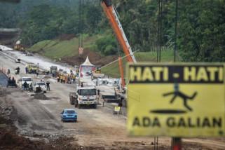 Proyek jalan tol Salatiga-Kartasura