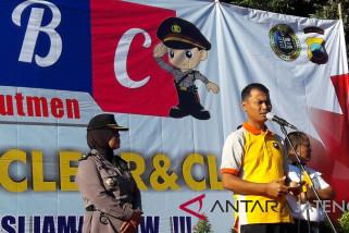 Polres Temanggung sosialisasikan penerimaan anggota Polri bersih