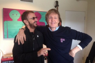 Ringo Starr dianugerahi gelar bangsawan istana Buckingham