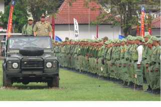 Jelang pilkada, 750 Satlinmas Eks Karesidenan Surakarta dikumpulkan