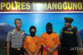 Polres Temanggung tangkap dua pengguna pil psikotropika