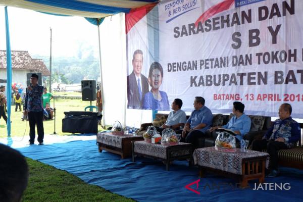 SBY ingin memajukan petani