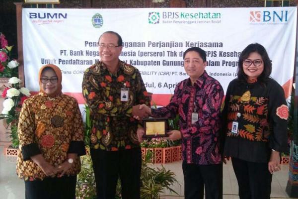 Donasi JKN-KIS, BPJS Kesehatan gandeng BNI