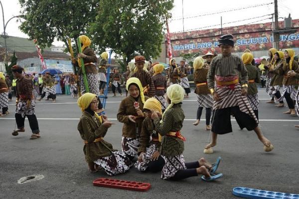 Peringati Hari Jadi,  Kota Magelang gelar kirab budaya