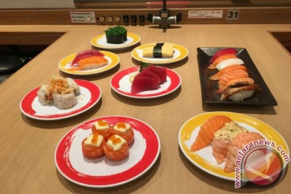 Konsumsi sushi dapat menjadi diet sehat