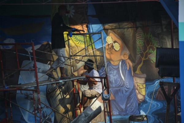 Mural Bengawan Solo