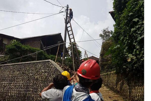 PLN terjunkan personil amankan listrik lokasi gempa Banjarnegara