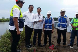 Progres normalisasi Sungai Banjir Kanal Timur lebihi target