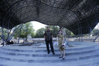 Pembangunan Taman Indonesia Kaya Semarang capai 80 persen