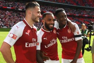Ini empat semifinalis Liga Europa Arsenal, Marseille, Atletico dan Salzburg