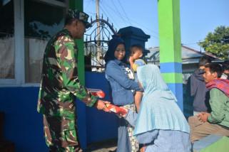 Korem 071/Wijakusuma bantu korban gempa di banjarnegara