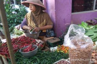 Harga cabai di Purwokerto masih bertahan tinggi