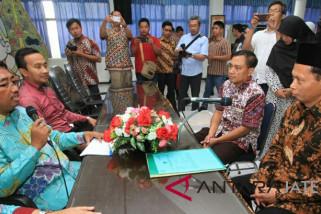 Didukung lintas agama, Ketua Lazisnu Jateng mendaftar DPD