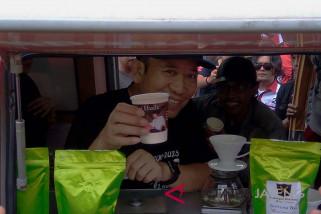 Pasangan Hude promosikan kopi lokal Banyumas