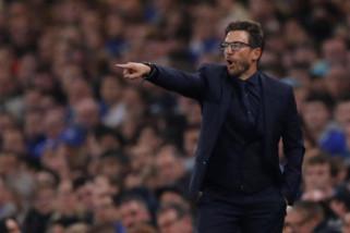 Dibantai Barca 1-4, bos Roma salahkan wasit