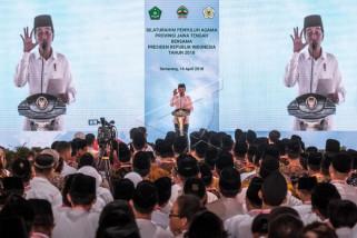 Presiden hadiri silaturahmi penyuluh agama