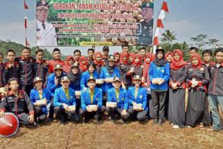 Mahasiswa STPP Magelang berpartisipasi tanam kedelai 10.000 ha di Purbalingga