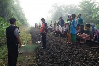 Seorang petani Banyumas tewas tertabrak kereta api