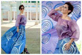 Perancang Decy Ramona bawa motif Toraja ke Dubai