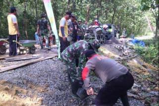 TMMD, TNI-Polri bersinergi