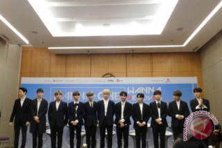 Grup K-Pop Wanna One tur dunia,termasuk ke Jakarta