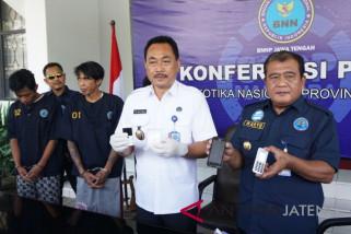 BNN Jateng ringkus mantan napi dan napi pengendali narkoba