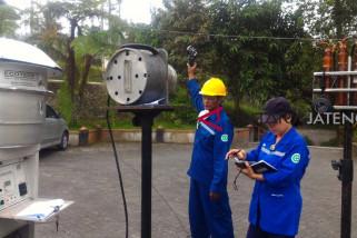 Balai Hiperkes pantau kualitas udara Gunung Merapi