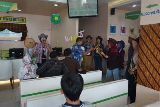 BPJS Ketenagakerjaan Semarang Majapahit berkostum ala koboi