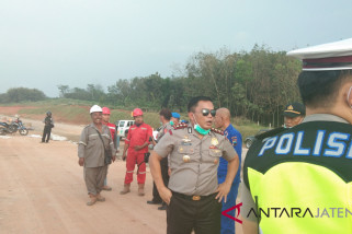 Polres Batang survei jalur tol Batang-Semarang