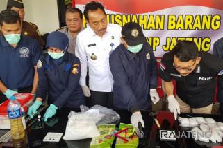 Sabu senilai Rp3,2 miliar dimusnahkan BNN Jateng