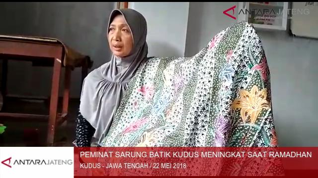 Sarung batik Kudus