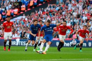 Penalti Hazard antar Chelsea juara Piala FA