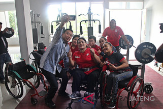 Dua atlet NPC Indonesia berhasil rebut emas