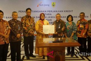Bank Jateng salurkan pinjaman Rp200 miliar ke Pemkab Sragen
