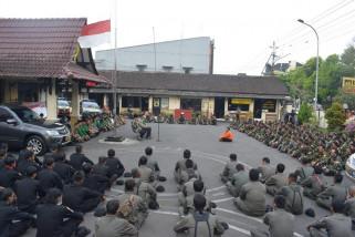 Banser dan  GP Ansor doakan korban bom Surabaya