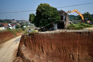 Eksekusi rumah di proyek jalan tol