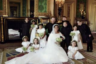 Disuap permen Smarties, fotografer dapat memotret anak-anak di pernikahan kerajaan