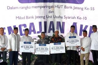 Eksis, Bank Jateng Syariah ungkapkan syukur dengan pengajian akbar