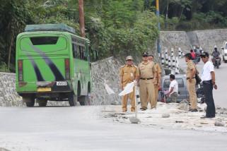 Sempat dihentikan, pengerjaan jalan Kabupaten Banjarnegara segera dilanjutkan