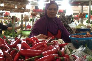Harga cabai di Purwokerto masih stabil