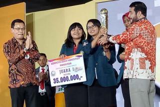 Undip juara 1 kompetisi debat konstitusi tingkat nasional