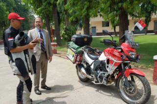 Dubes Indonesia untuk India sambut pengendara motor Indonesia