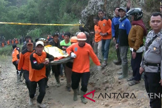 Dua penambang di Wonosobo tertimbun longsor