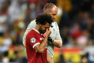 Ramos doakan Salah cepat sembuh