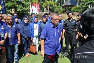 Kutuk teror bom, NasDem Jateng upacara bendera setengah tiang