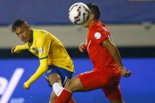 Piala Dunia, fans serbu lapangan latihan Timnas Brasil