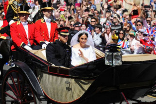 Operasi bersih-bersih di Windsor usai digunakan pernikahan kerajaan