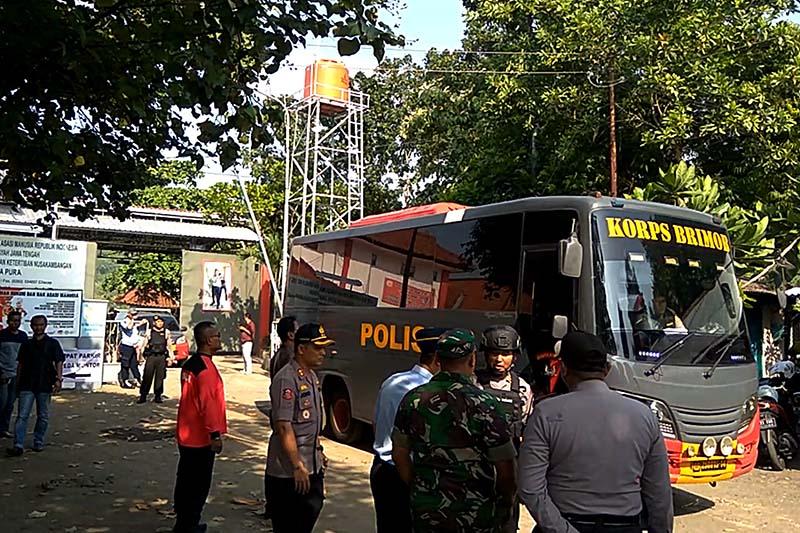 Tahanan kasus terorisme dipindah dari Nusakambangan