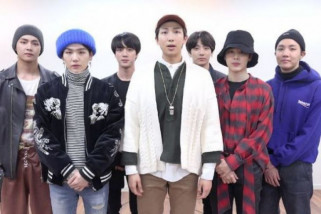BTS jadi grup K-pop pertama yang duduki puncak tangga album AS